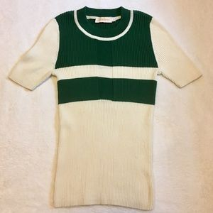 Tory Burch Colorblock Sweater Top